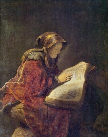 5Rembrandt_Anziana donna che legge